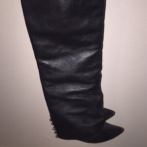 Black boots from #bakersshoes